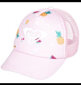 Roxy Sweet Emotions Trucker Hat, Fruit, 2-7y