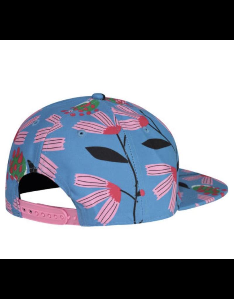 Birdz Blue Peony Baseball Cap