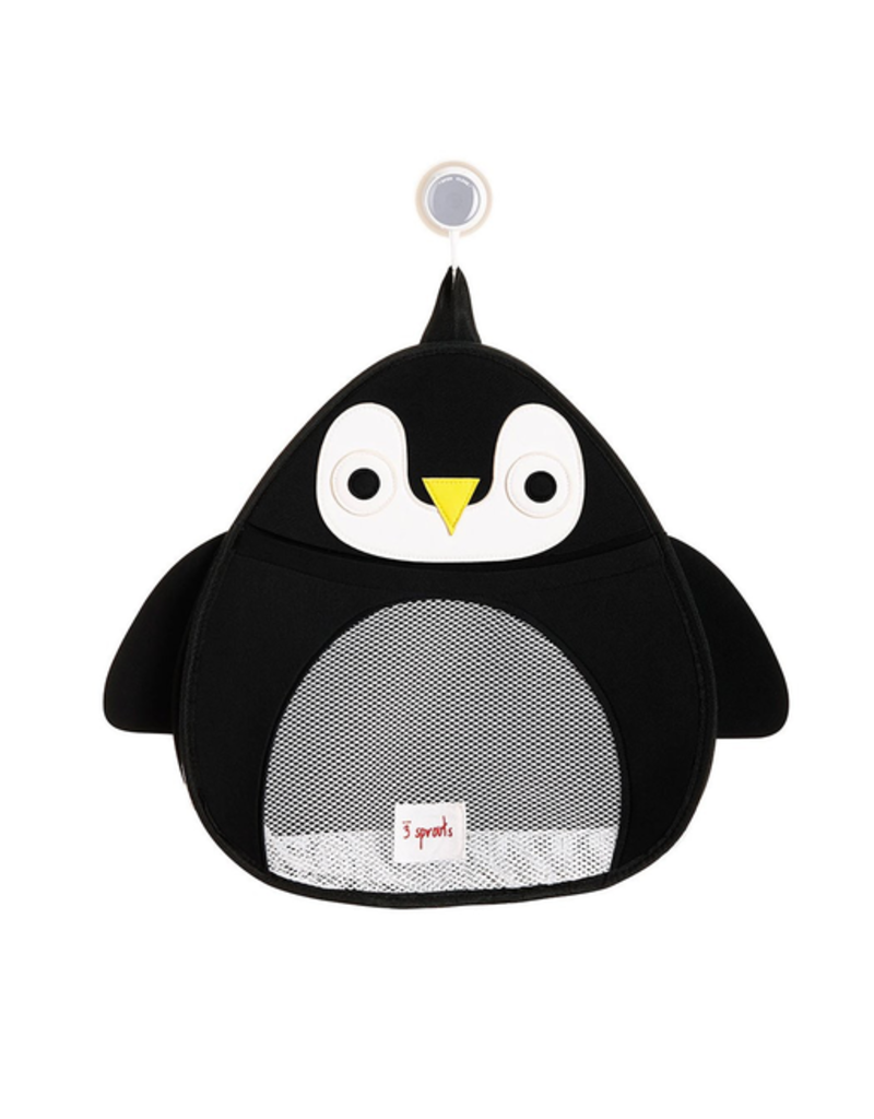 3 Sprouts Bath Storage Penguin
