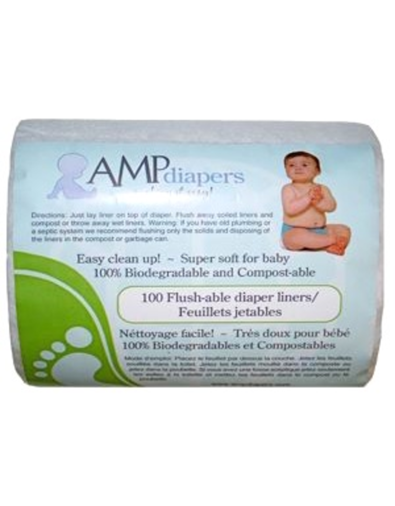 AMP Diapers Flushable Liner