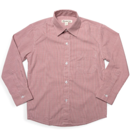 Appaman Red Check Standard Shirt