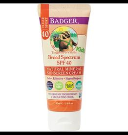 SPF 40 Kids Clear Zinc Sunscreen Cream, 86ml