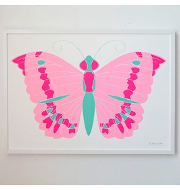 Banquet Banquet Butterfly Print