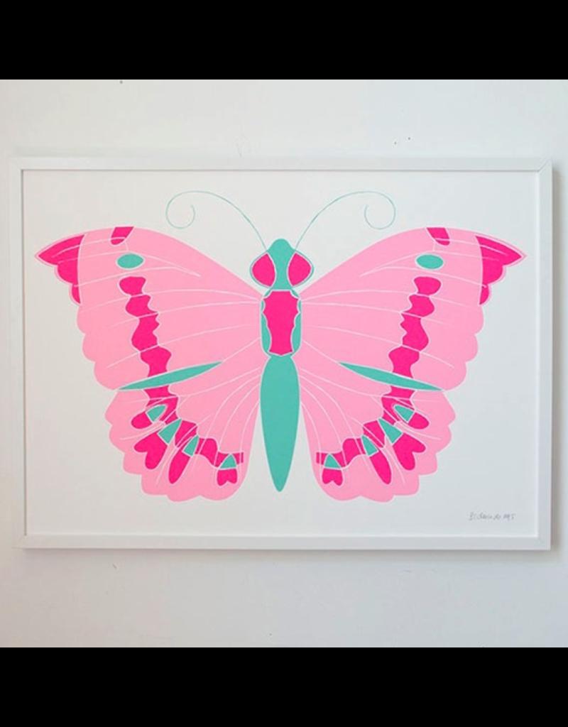 Banquet Butterfly Print
