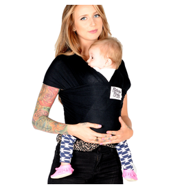 Beluga Baby Beluga Baby Bamboo Wrap - The Sawyer (Black)