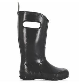 Bogs Youth Black Rain Boots Size 1