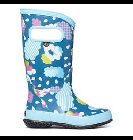 Bogs Youth Raincloud Rain Boots Size 3