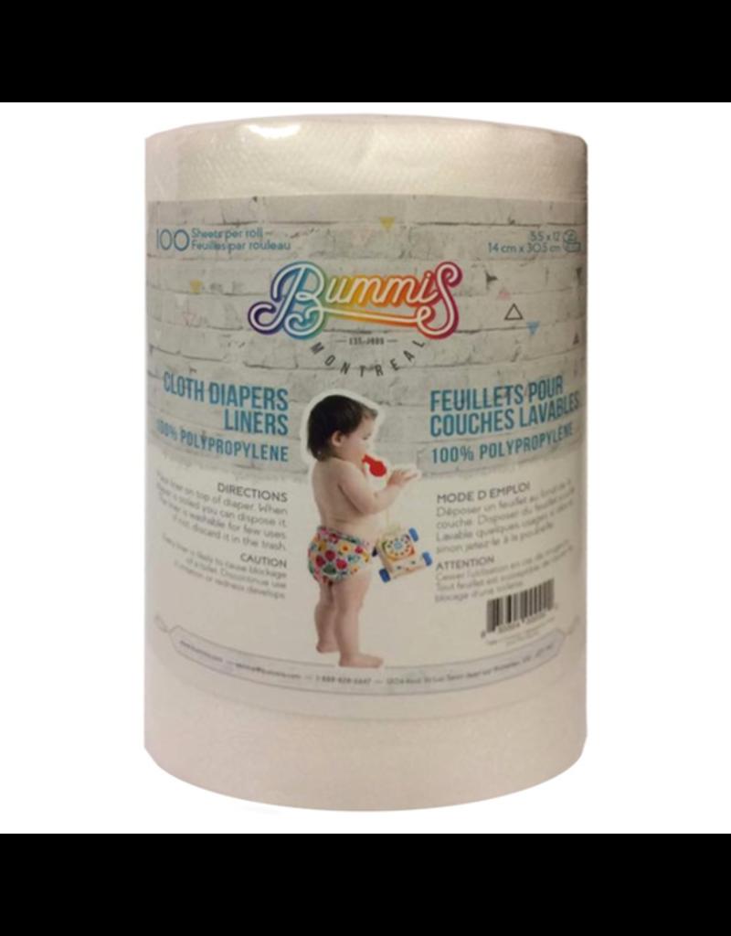 """Bummis Bummis Polypropylene Liner, 100, 5.5x12"""""""