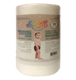 Bummis Bummis Biodegradable Liner, 100, 5.5 x 12""