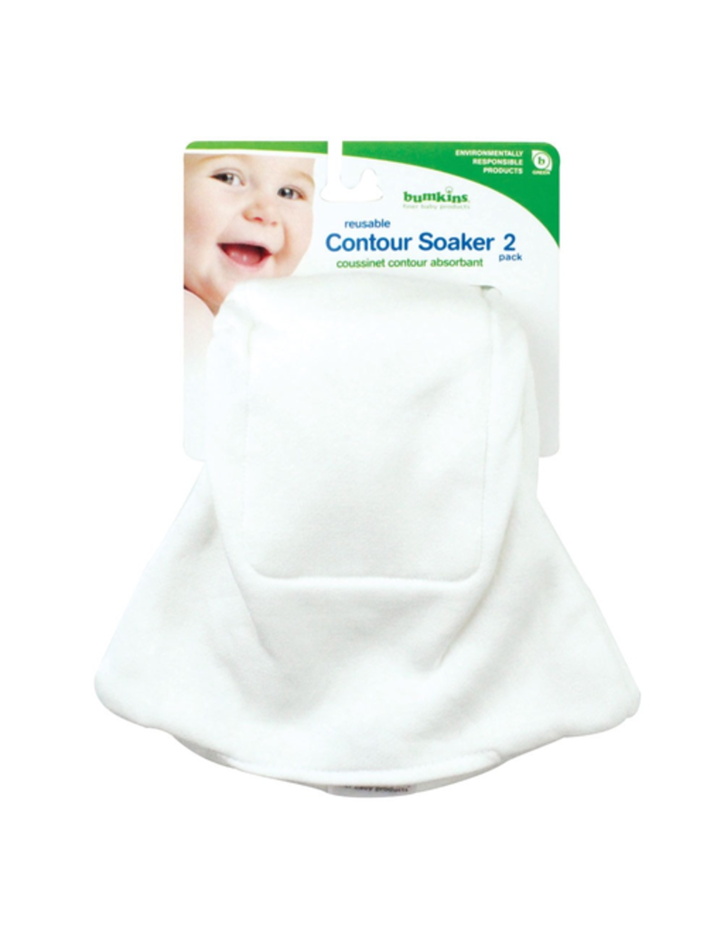 Bumkins Reusable Soakers 2pk - 7-32lbs