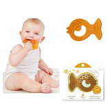 CaaOcho Natural Rubber All-Stage Teether Fish
