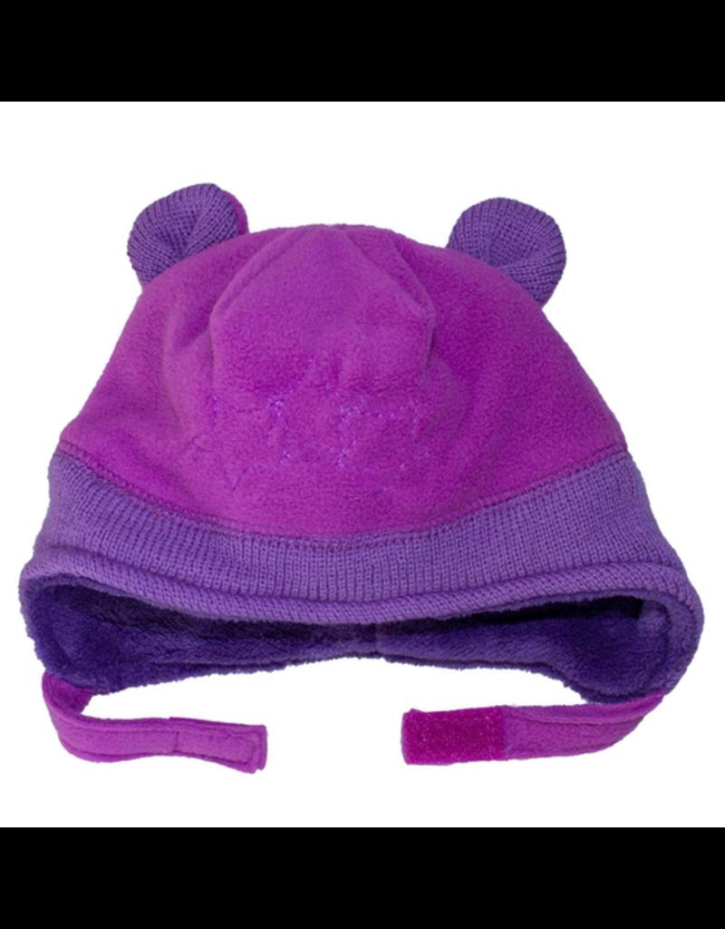 Fleece Ear Hat w/Stars