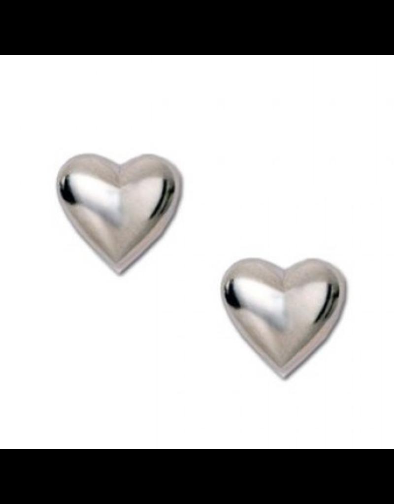 Puff Heart Earrings