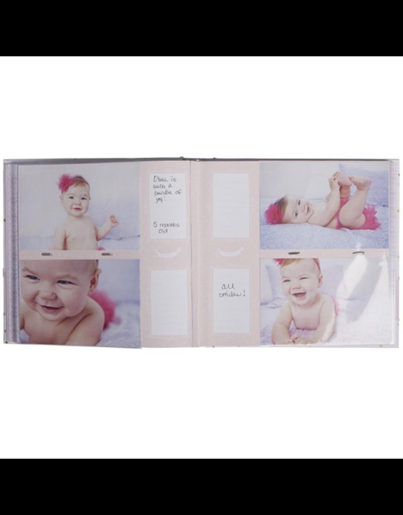 CR Gibson Slim Bound Photo Journal Album - Sweet Sparkle