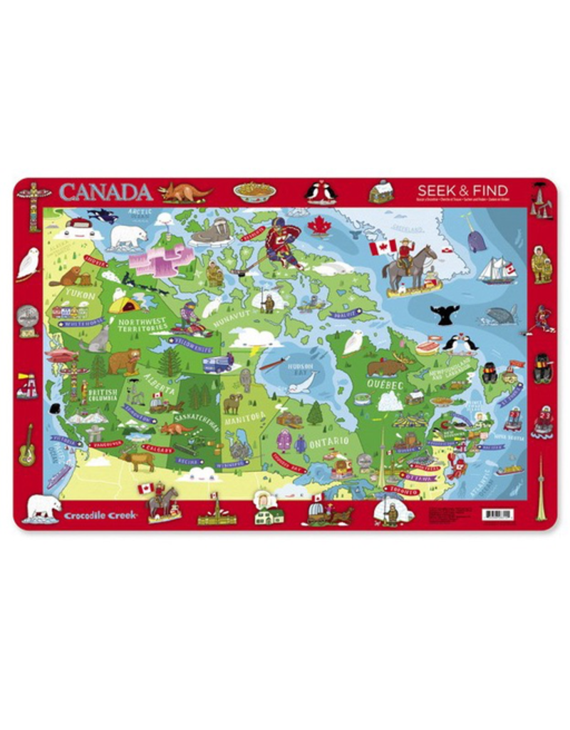 Crocodile Creek Placemat - Canada