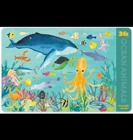 Crocodile Creek Placemat - Ocean Animals