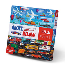 Crocodile Creek 48pc Above & Below Puzzle - Things that Go