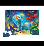 Crocodile Creek 36pc Puzzle - Land of Dragons