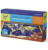 Crocodile Creek Discover Puzzle - World Animals 100pc