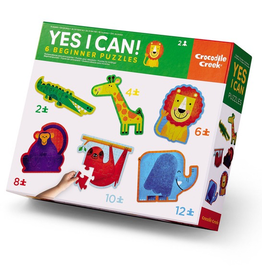 Crocodile Creek Yes I Can! Puzzles - Jungle
