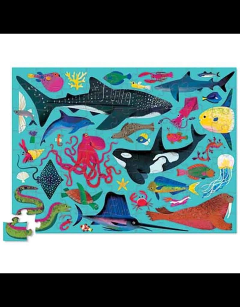 Crocodile Creek 72pc Puzzle - Sea Animals