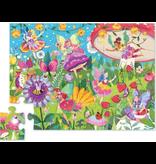 Crocodile Creek 24pc Canister Puzzle - Fairy Garden