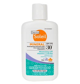 Mineral Broad Spectrum Sunscreen Lotion, SPF 30