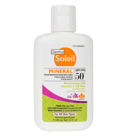 Mineral Broad Spectrum Sunscreen Lotion, SPF 50, 100ml