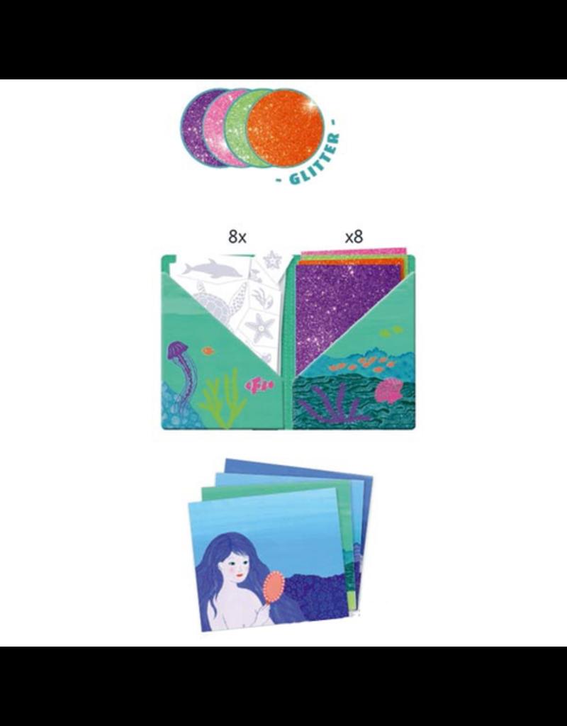 Djeco Artistic Kit Glitter - Ocean