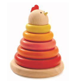 Djeco Cachempil Chick Stacker 12m+