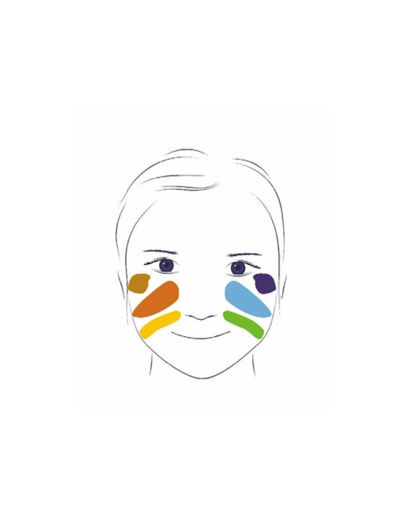 Djeco Body Paint - 6 Colours - Nature
