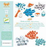 Djeco DIY Wooden Beads - Small Animals