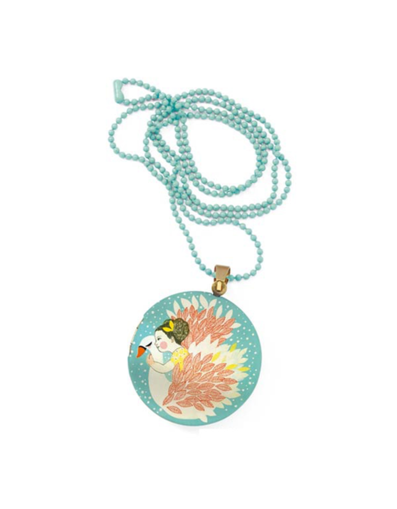 Djeco Lovely Surprise Necklace - Swan