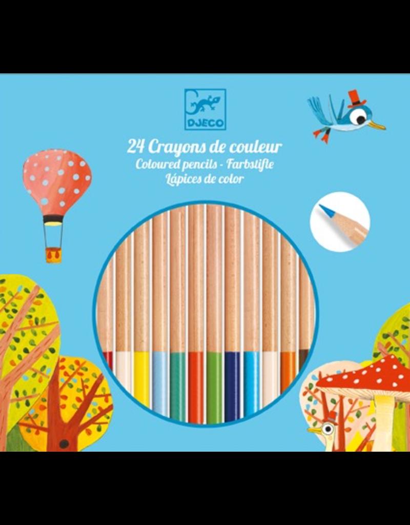 Djeco 24 Coloured Pencils