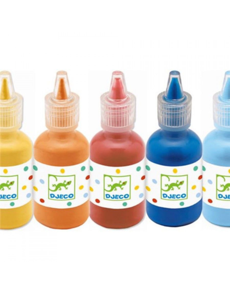Djeco 8 Bottles Of Poster Paint