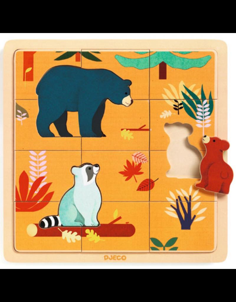 Djeco Canadian Animals Puzzle