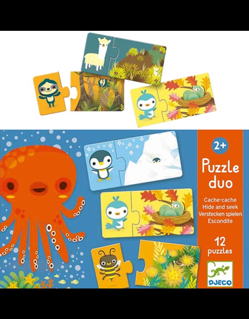 Djeco Puzzle Duo Hide & Seek