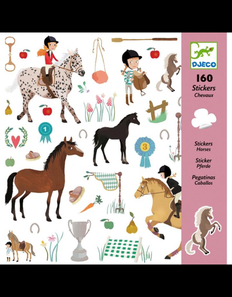 Djeco Horses Stickers
