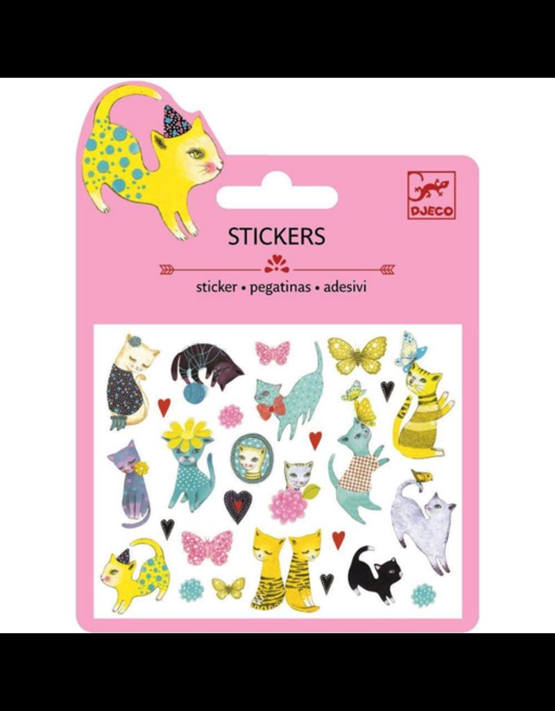 Djeco Mini Stickers - Cats