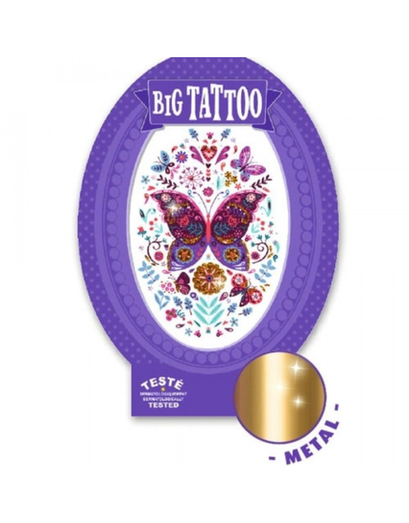Djeco Butterfly - Big Tattoo