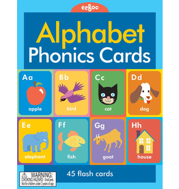 Eeboo Alphabet & Phonics Flash Cards