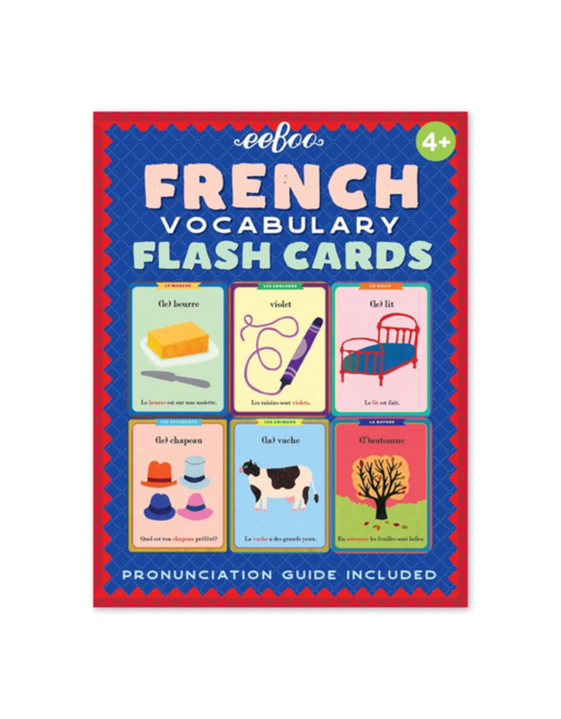 Eeboo French Flash Cards (3ED)