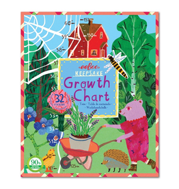 Eeboo Growth Chart - Making the Garden
