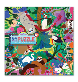 Eeboo Sloths at Play Puzzle 64pc