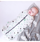 Ergopouch Bamboo 0.2 Tog Swaddle/Sleepsack Clouds