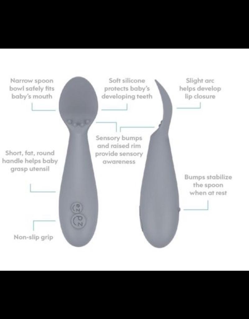 ezpz Pewter Tiny Spoon 2pk