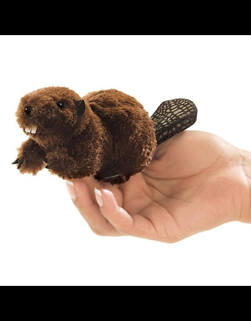 Folkmanis Finger Puppet - Beaver