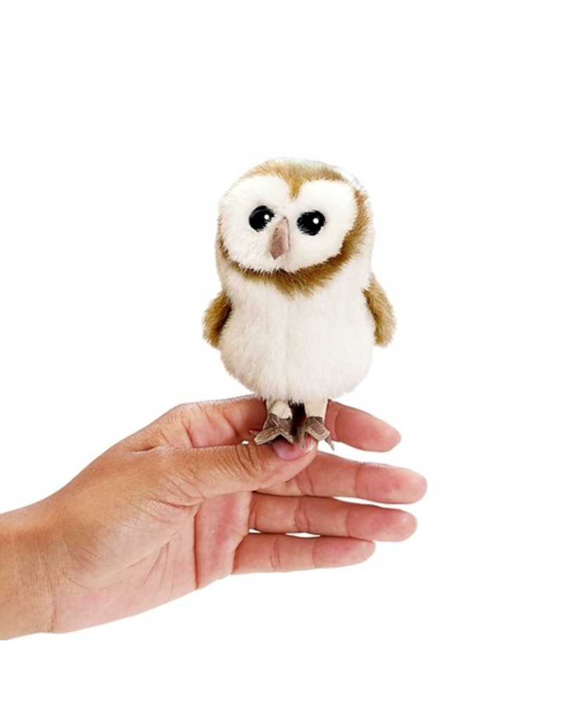 Folkmanis Finger Puppet - Barn Owl