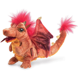 Folkmanis Fire Dragon Puppet