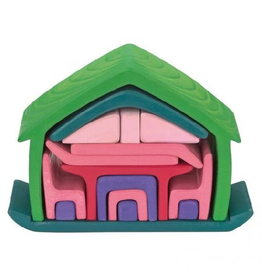 Gluckskafer All-in-One House, Green